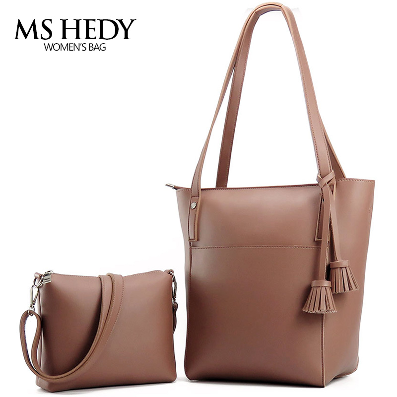 MS HEDY New Tassel Big Shoulder Bags Women Crossbody Bag Female Designer Set Handbags High Quality Woman Totes retail new designer women s outdoor crossbody bags graceful landscape print teenagers shoulder bag high quality casual bag