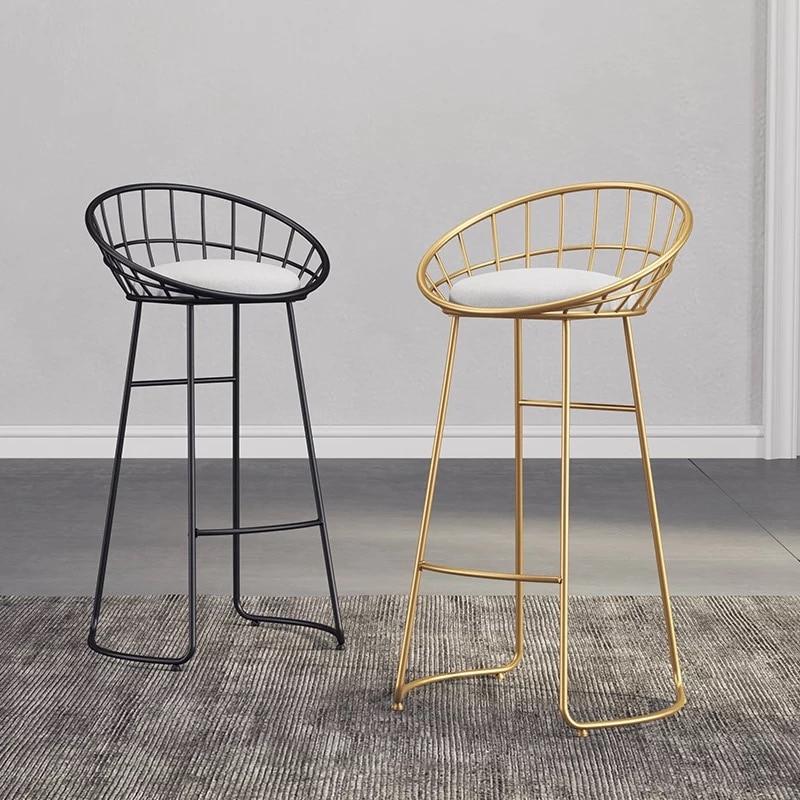 Nordic wrought iron bar stool bar chair creative home bar furniture coffee dining chairNordic wrought iron bar stool bar chair creative home bar furniture coffee dining chair
