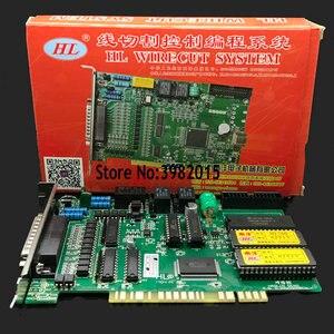 Image 4 - Оригинальная EDM HL карточная система управления резкой проволоки 760 английская версия для высокоскоростной резки проволоки