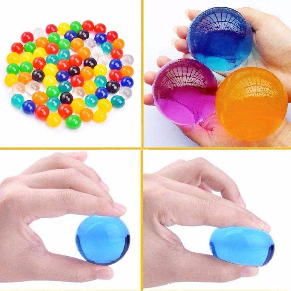 Grand Gel De L'eau Perles 3 oz Pack Croissante Balles De Gelée Cristal sol Tactile Jouet Vase de Remplissage Pour Enfants Parti Faveurs De Mariage de noël