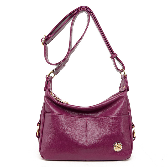997167d76a New Vintage PU Leather Female Handbags Shopping Soft Women s Shoulder Bags  Korean Style Ladies Handbag Phone