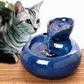 Dispensador de água automático para gato, dispensador de água para cães e gatos beberem água de circulação automática para beber água, tigela e bebedouro