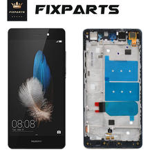 цены на 100% Tested AAA Quality LCD+Frame HUAWEI P8 Lite Lcd Display Screen Replacement Huawei P8 Lite Assembly Huawei P8 Lite 2015 LCD  в интернет-магазинах