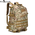 3D Outdoor Sport Military Tactical Climbing Mountaineering Backpack Camping Hiking Trekking Rucksack Travel Outdoor Bag 55L Bags