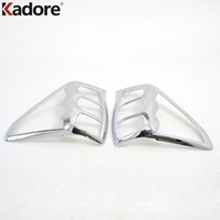 Chrome Rear Tail Light Lamp Cover Trim Fit For Subaru Forester 2009 2010 2011 2012