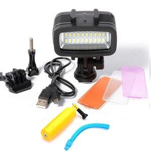 Image 5 - Orsda Luz LED de buceo para exteriores, lámpara impermeable de alta potencia para GoPro XiaoYi SJCAM, cámaras de acción deportivas, flash, luces gopro