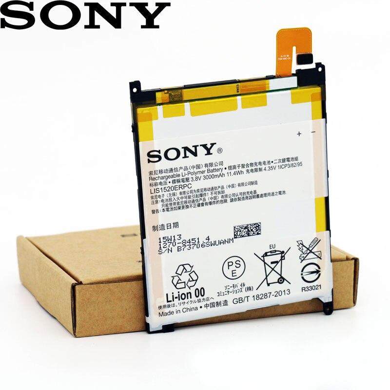 SONY High-Quality Battery Xperia-Z LIS1520ERPC 3000mah L4 Original Ul Ultra-C6802 ZU