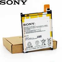 SONY 100% Original LIS1520ERPC 3000mAh Batterie Für SONY XL39h Xperia Z Ultra C6802 Togari L4 ZU C6833 Hohe qualität batterie