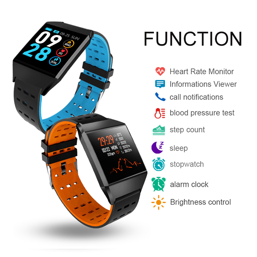 Original-Timethinker-W1C-Smart-Watch-Hot-Sale-For-Heart-Rate-Monitor-Fitness-Tracker-Pedometer-Sports-Wristband