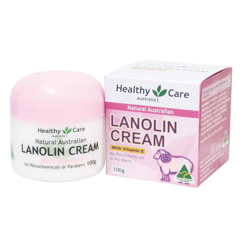 Australia Natural Lanolin VitaminE Cream Moisturising Day Face Cream Dry  Skin Cream For Moisture Loss No Petrochemical &Parabens