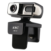 HD 720P Webcam For Computer PC Laptop Notebook Smart TV Web Camera With Microphone For Online