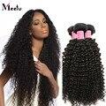 Cabelo Brasileiro Natural Preto Crespo Encaracolado Tecer 7A Pacotes Tecer Cabelo Brasileiro 10 Pcs 100g Atacado Afro Kinky Curly Cabelo virgem
