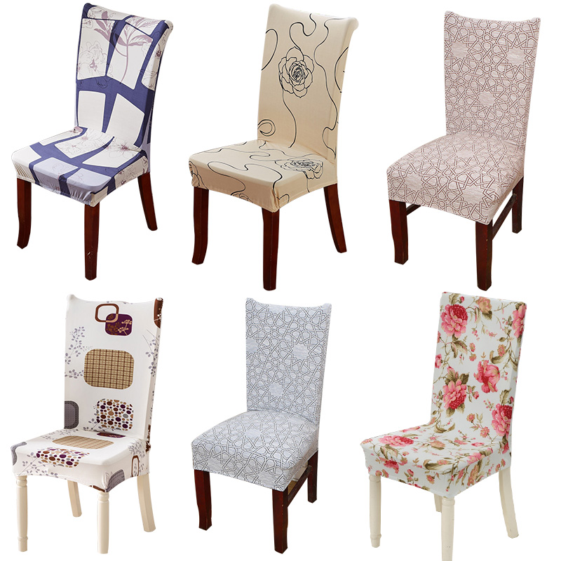 1pcs Flower Christmas Stretch Home Decor Dining Chair