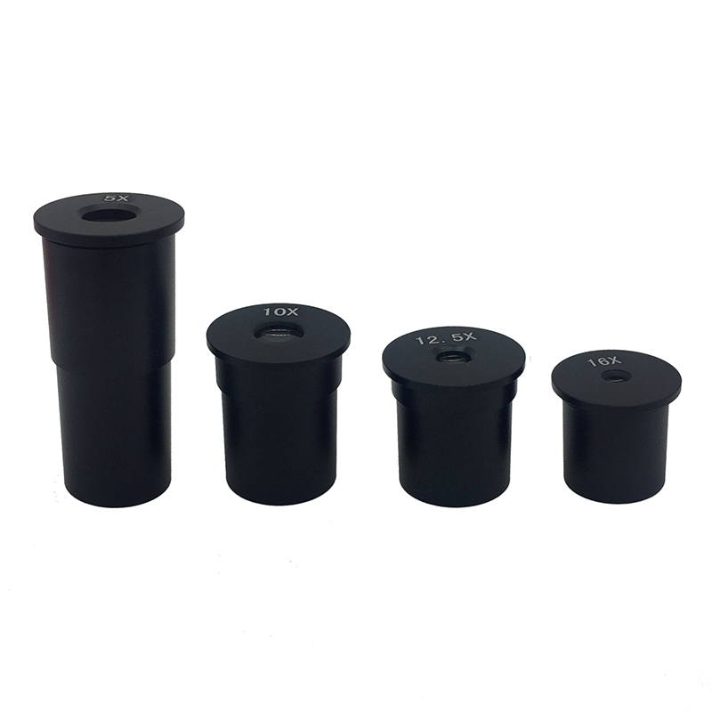 1PC 5X / 10X / 12.5X / 16X Huygens Optical Eyepiece Lens With Mounting Size 23.2 Mm For XSP Series Biological Microscope