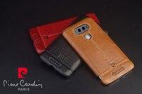 Genuine Leather Hard Back Case Cover For LG G3 D850 D851 D855 Phone Cases 3 Color