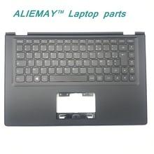 Ноутбук частей для Lenovo Йога 2 13 Йога 2-13 черный Упор для рук с подсветкой Французский FR Клавиатура 90205181