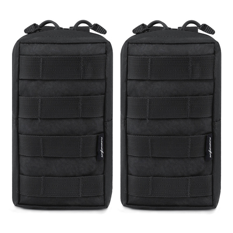 Tactical Molle Pouches Compact Water-Resistant Multi-purpose EDC Tool Pouch For Vest Belt Backpack Hunting Accessory Bag 4 Color