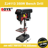 ZJ4113 350W Bench Drill/BOYE Bench Drilling Machine/Metal Table Drill Press with rotary table