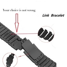 Соединяющий ремешок браслета для apple watch band 4 3 iwatch 42 мм 38 44 40 correa pulseira apple watch 4 3 2 1 ремень из нержавеющей стали