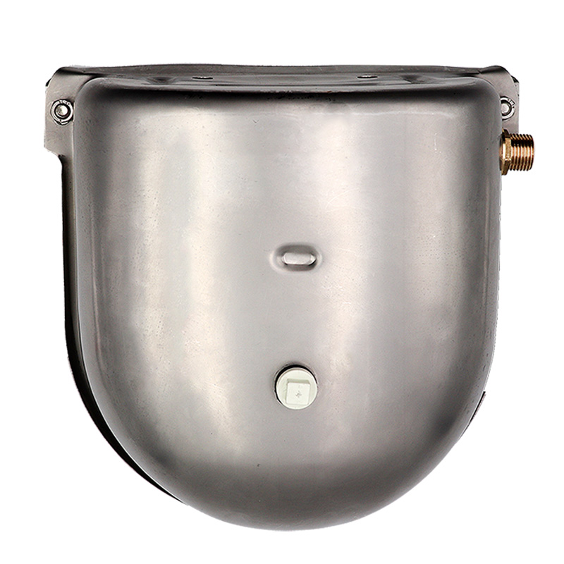Livestock Cow Horse New Automatic Water Bowls Stainless Steel Drinking Bowl Float Outlet For Cattle Dog  Sheep Pig Feeder 5