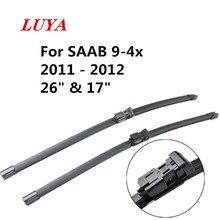 """Стеклоочиститель LUYA для автомобиля SAAB 9-4x(2011-2012) 2"""" и 17"""" подходят кнопочные ручки"""