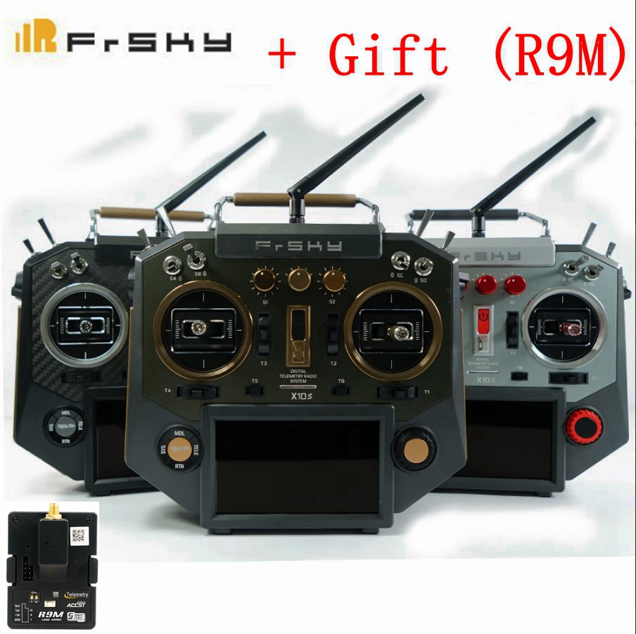 цена на Original FRSKY Horus X10S 16CH Transmitter build-in iXJT Receiver+module for RC Helicopter Multicopter Mode 2+R9M