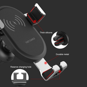 Image 4 - Wireless Car Charger Adapter For Mobile Phone 8 8 plus x xs For Samsung Galaxy S9 S8 Car Charger Quick Charge 3.0