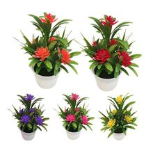 Artificial Fake Lotus Flower Potted Plant Bonsai Wedding Party Garden Home Decor Plants New
