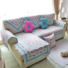 Modern Style Sofa Cover Cotton Printed Slipcover Seat Sofa Pad Slip-Resistant Couch Cover Sofa Towel for Living Room mid century modern style sofa love seat colored button japanese style low sofa small for home office living room furniture couch