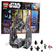 1053PCS LEPIN Space Star Wars Series Minifigures Kylo Ren Command Shuttle Assembling Model Toy Building Blocks Bricks Brinquedos