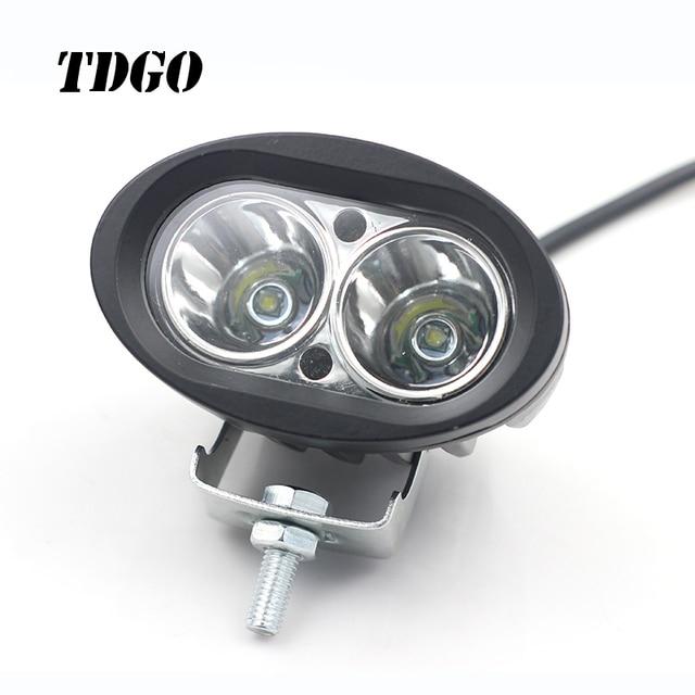 Tdgo Motorrad Scheinwerfer Lampen Led 12 80 V 2150lmw Hilfs Lampe