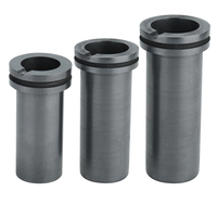 High Purity Melting Graphite Crucible Cup Mould Melting High Temperature Resistance For Gold Silver Metal Smelting
