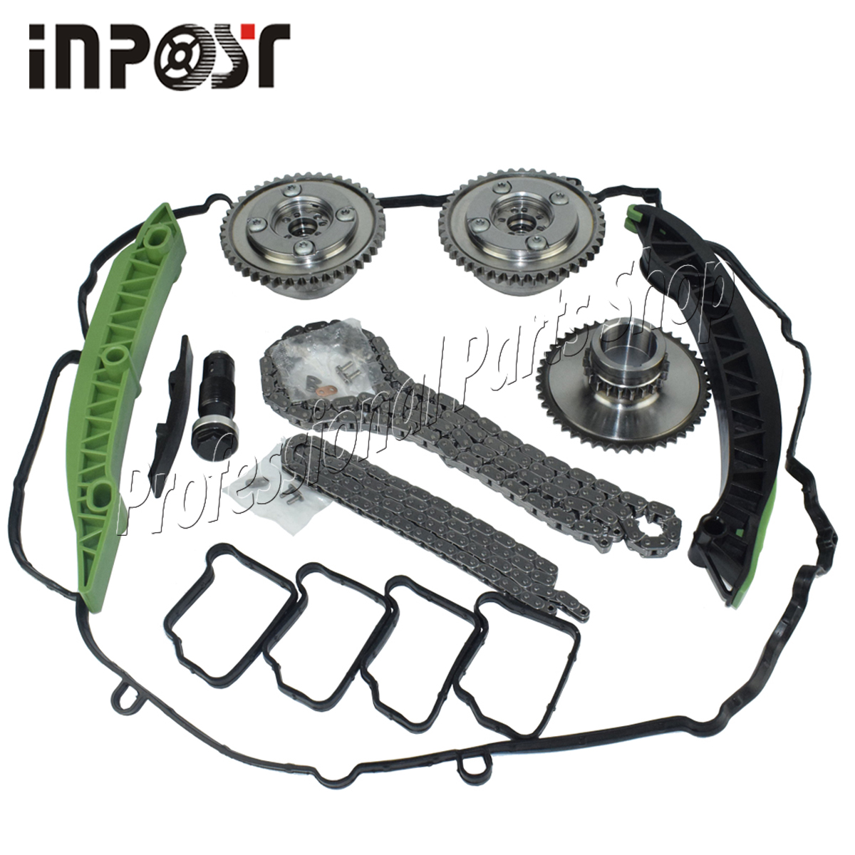 Camshaft Adjuster Timing Chain Kit For <font><b>Mercedes</b></font> <font><b>W203</b></font> W204 C250 SLK250 E250 M271 A2710501400 A2710501500 image