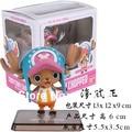 Figuras de anime de One Piece ZERO Chopper Choba Figura de Acción de Muñeca de Dibujos Animados Anime Model Collection PVC Juega El Envío Libre