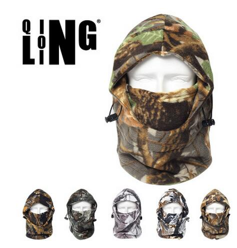 New Winter Camo Camouflage Cycling Thermal Fleece Warm Face Neck Mask Balaclava Hunting Wind Ski Cap