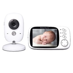 Wireless Video Color Baby Monitor 3.2inches Lcd 2 Way Audio Talk Night Vision Surveillance Security Camera Sleep Nanny