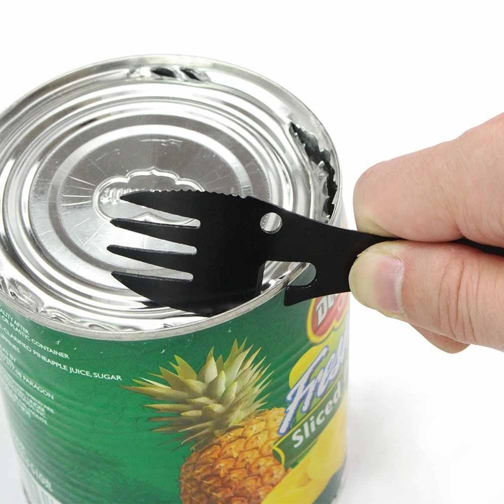Multitool fourchette tactique cuillère équipement de Camping ustensiles de cuisine cuillère fourchette décapsuleur outil Portable survie en plein air