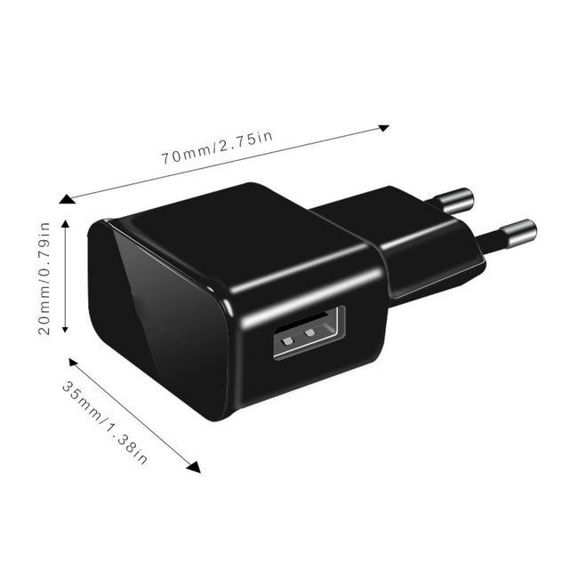 2PCS/lot 5V 2A Travel Convenient EU Plug Wall USB Charger Adapter For Samsung galaxy S5 S4 S6 note 3 2 For iphone 7 6 5 4 3