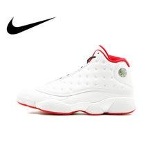 buy popular 2bdd8 6ae68 Original Authentic Nike Air Jordan 13 Retro3M Mens Basketball Shoes  Sneakers Medium Cut Breathable Sport Outdoor