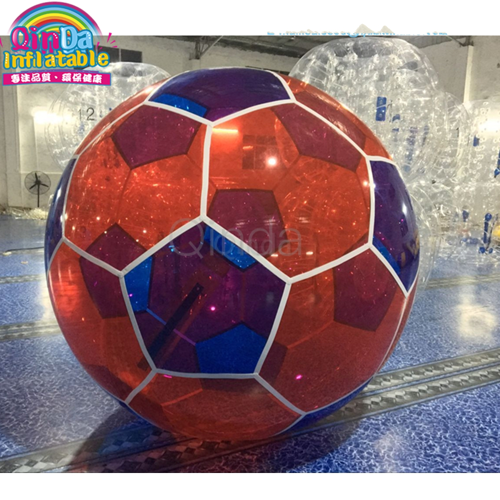 1.8M Diameter Inflatable bubble ball, football shape inflatable water walking ball for rental 1.8M Diameter Inflatable bubble ball, football shape inflatable water walking ball for rental