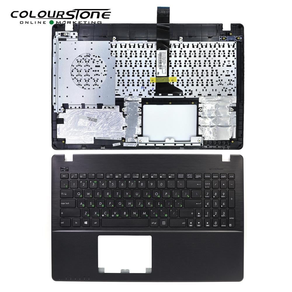 Cool Black Keyboard For ASUS X550 Russian Laptop Keyboard With Cover