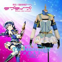 [Customize]2018 New Anime Love Live Umi Sonoda Crayon/Painter Awakening Cosplay Costume XS XXL For Wome Halloween Free Shipping