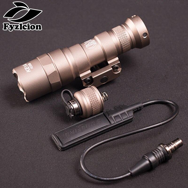 caca m300 arma rifle lanterna 400 lumen luz led lanterna fit 20 milimetros montagem em trilho