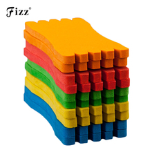 EVA Foam Fishing Line Plate Winding Board for Lure Trace Wire Accessories Tackle 10 pcs/lot Random Color
