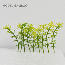 8cm Architectural Artiflcial Flower Green Miniature For Trains Layout Toys Simulation Scenario Making model trees and bushes