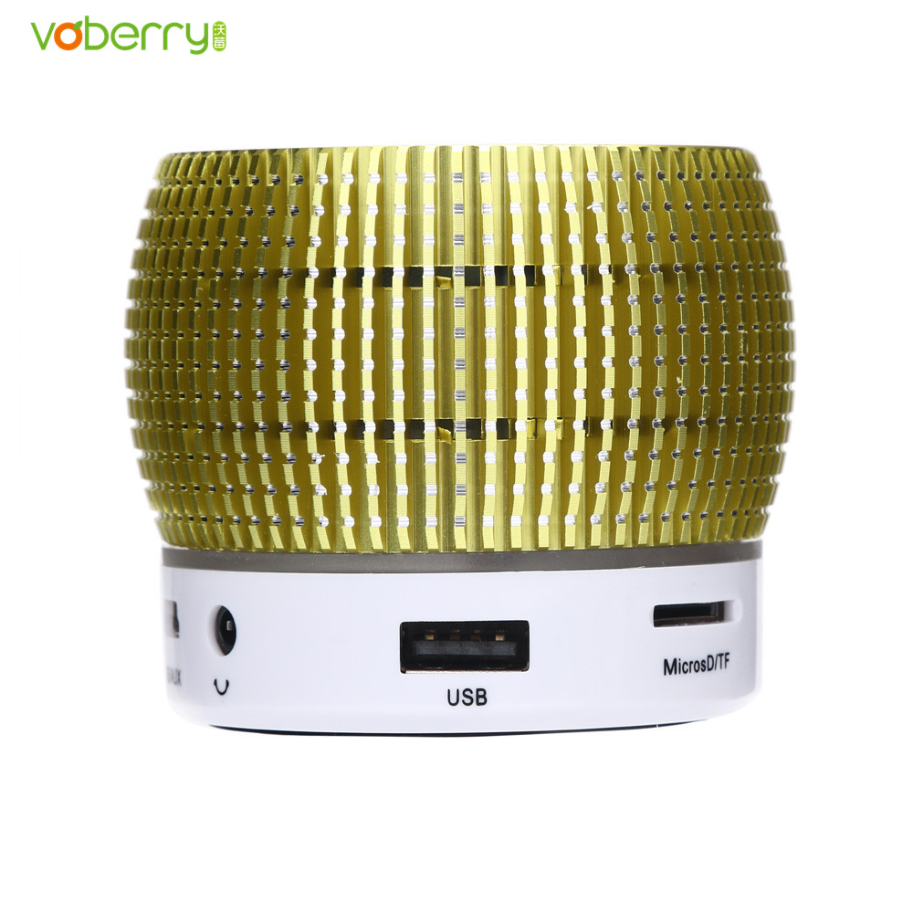 VOBERRY Bluetooth Wireless Speaker Mini Portable Super Bass Subwoofer Hands-free loudspeaker Music Player For iPhone PC Tablet
