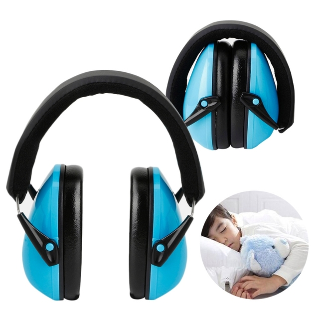 eefd60425af Foldable Hearing Protection Ear Muffs Noise Cancelling Earmuff for Kids  Child