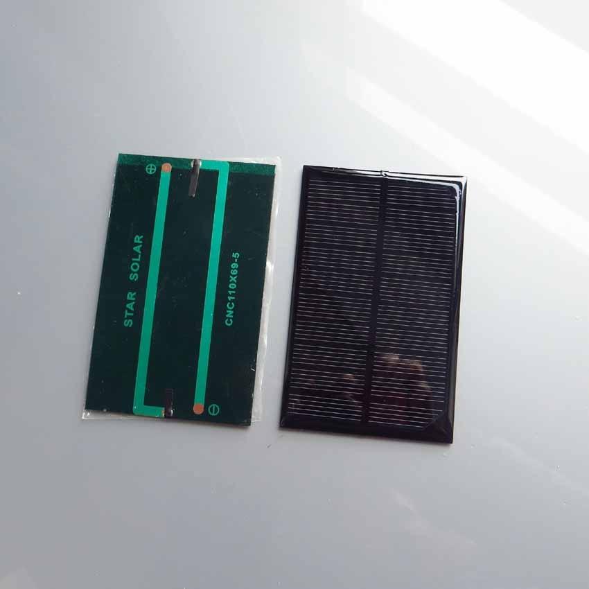 2pcs x 5V 250mA Mini monocrystalline polycrystalline solar PV Panel small solar PV module for DIY solar Kits