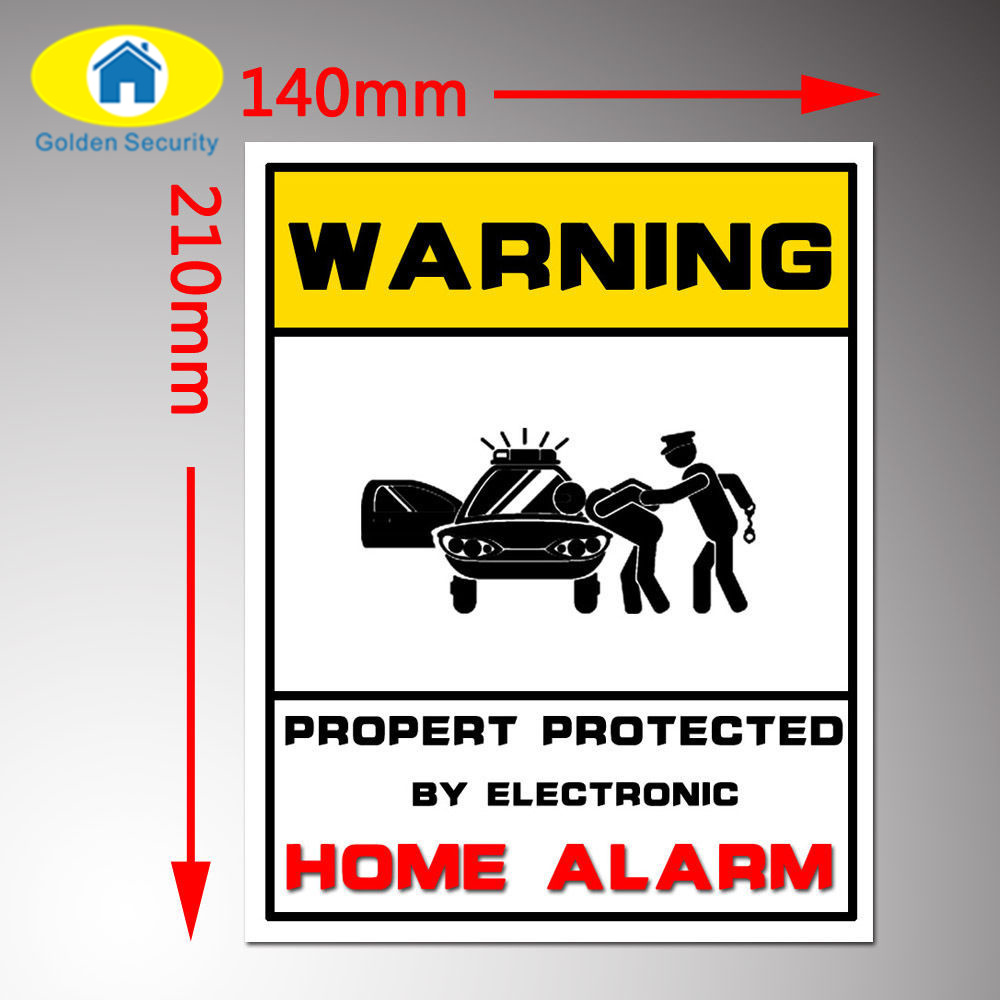 Golden Security Protected HOME Security Alarm System ...