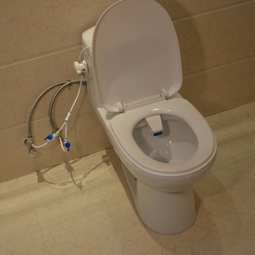Spray Water Wash Clean Seat And easy to Install Seat Bidet Portable ...